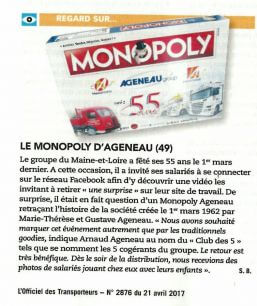 MONOPOLY AGENEAU GROUP